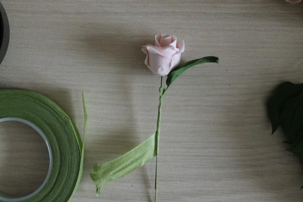 Розы из полимерной глины. СЕРДЦЕ ИЗ РОЗ (39) (600x400, 100Kb)