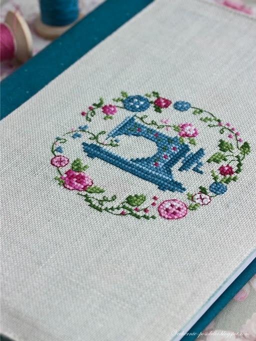 Часть 2 - Натяжение вышивки в