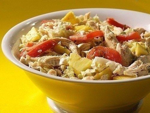 салат с курицей и ананасами (500x375, 128Kb)