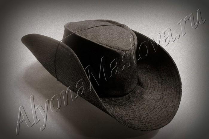 Шить такую шляпу лучше из