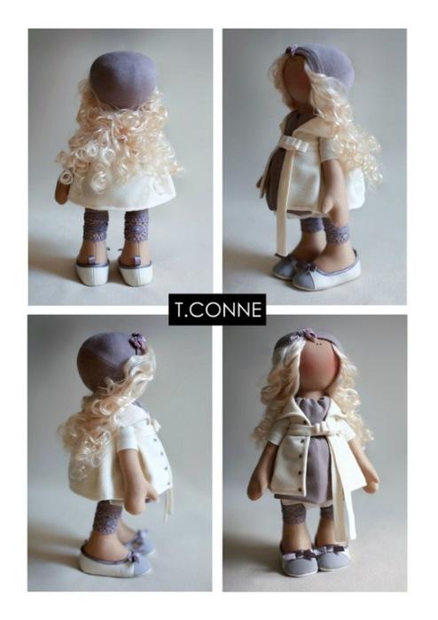 Куклы Татьяны Коннэ.  Процитировано. в цитатник.  34 раз. выкройка.