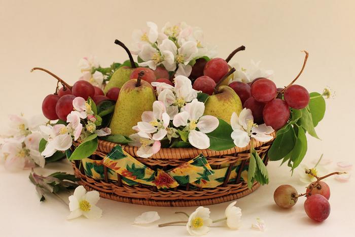 цветы и фрукты 7 (700x467, 472Kb)