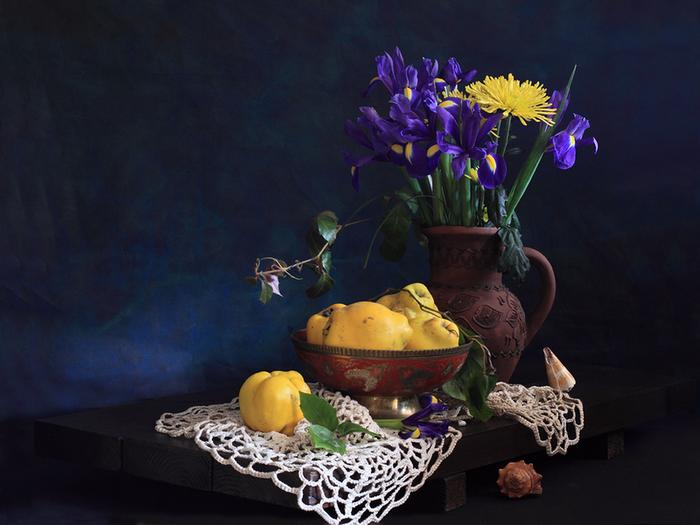 цветы и фрукты 10 (700x525, 501Kb)