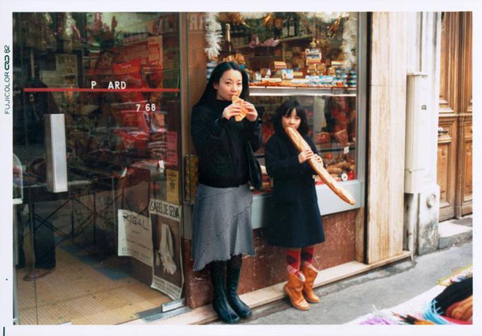 Я и мини я. Портреты прошлой и современной Тино Оцука
