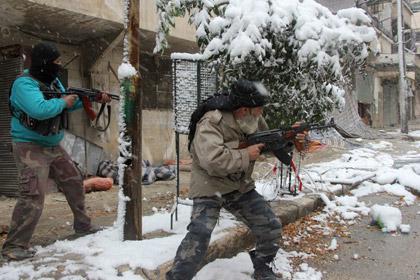 Боевики в Сирии воюют между собой (420x280, 51Kb)