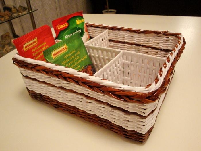 Плетение коробки из бумаги своими руками 36