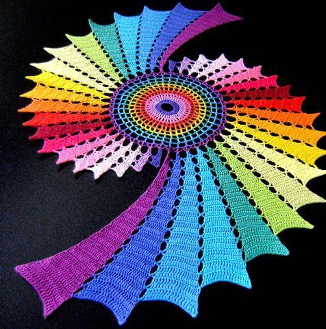 Вязаные ковры необыкновенной
