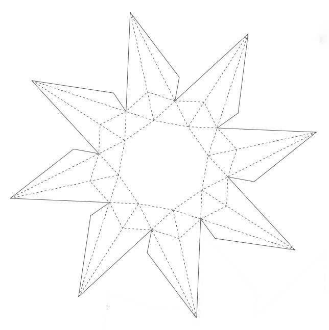 бриллиант из бумаги 02