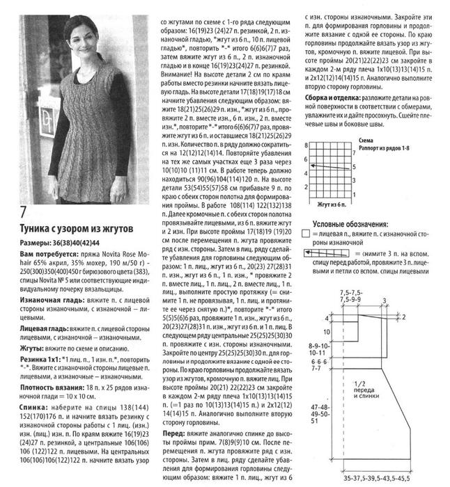 Вязание для беременных на спицах и схемами