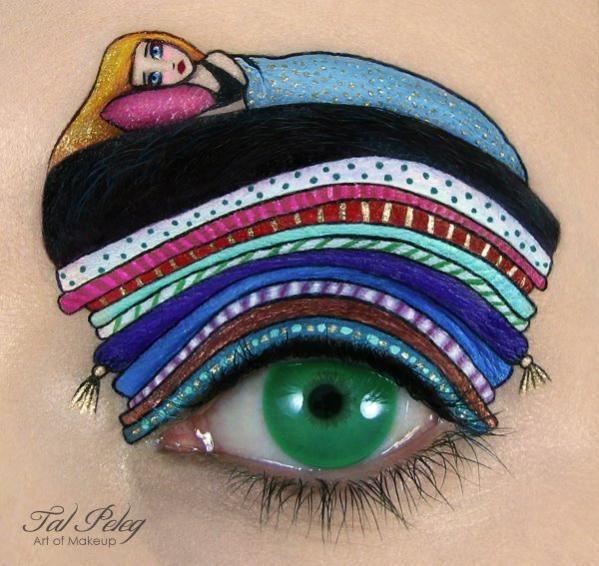 необычный макияж фото 12 (599x566, 181Kb)
