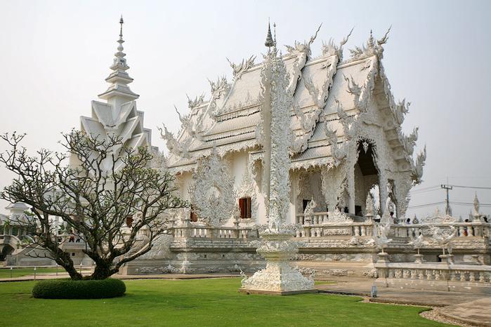 белый храм таиланд фото (700x466, 382Kb)