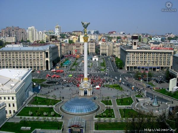 Киев - старинный центр славянства (600x450, 193Kb)