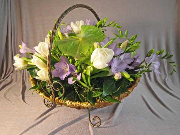 цветы и корзина 8 (600x450, 205Kb)