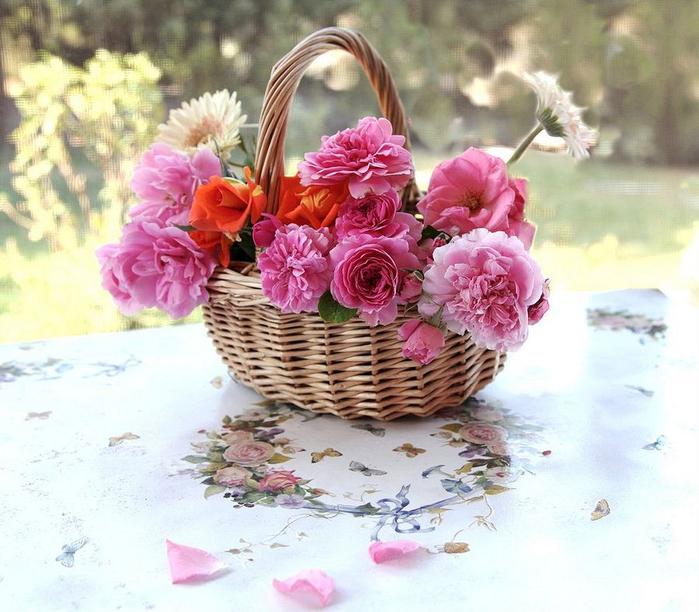 цветы и корзина 15 (700x612, 429Kb)