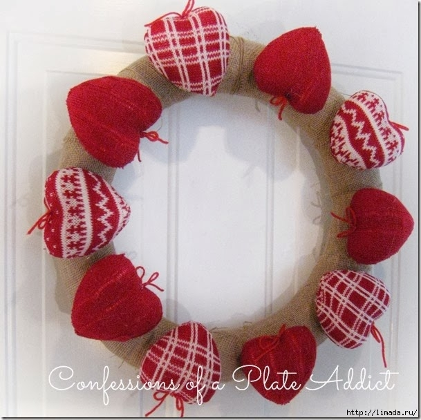 CONFESSIONS OF A PLATE ADDICT Rustic Valentine Wreath2_thumb[2] (609x608, 214Kb)