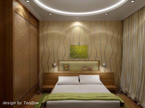 Дизайн спальни длинная