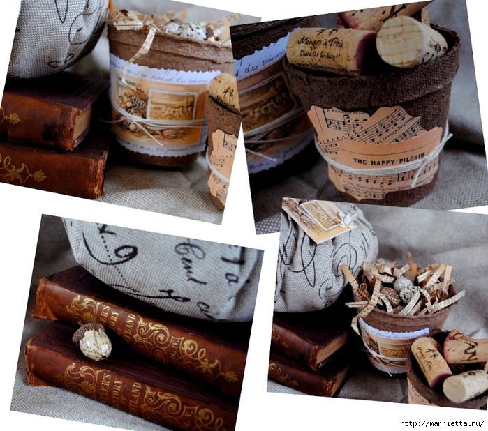 Винтаж и торфяные горшочки. Много идей (109) (700x618, 355Kb)