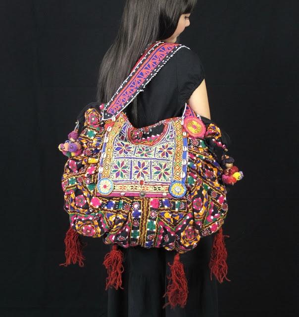 Antique Hill Tribe Shoulder Bag 1 (604x640, 233Kb)