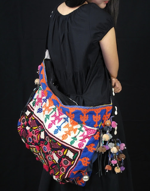 Vivid Tribal Hill tribe cross body strap bag 2 (502x640, 185Kb)