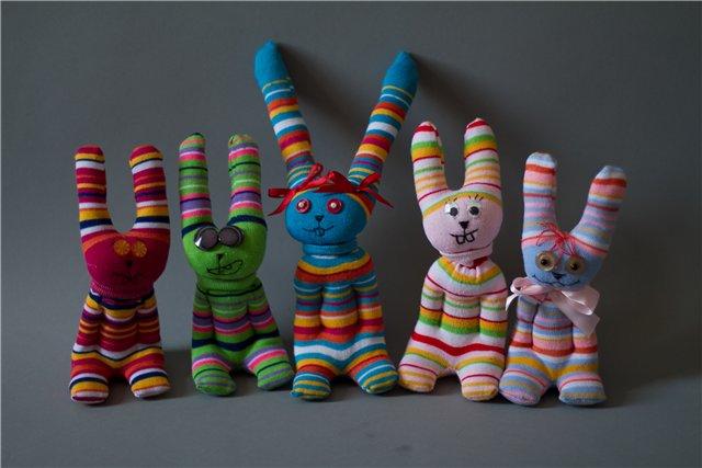Игрушки своими руками из колгот и носков