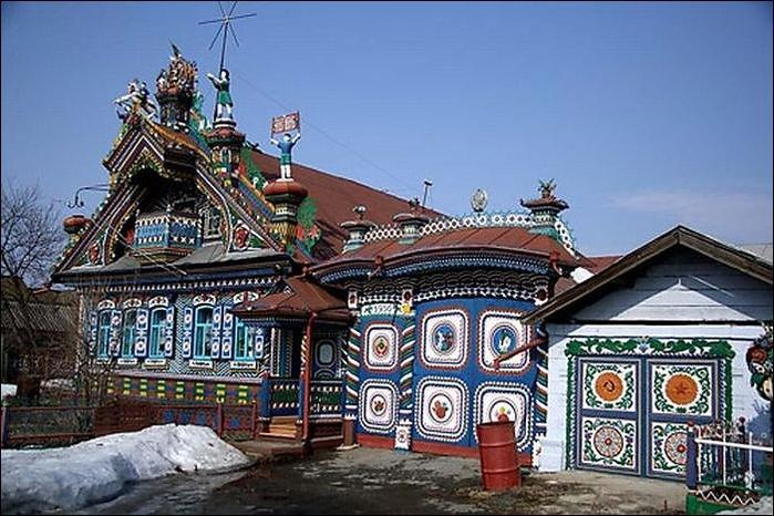 Дом в деревне Кунара2 (700x466, 260Kb)