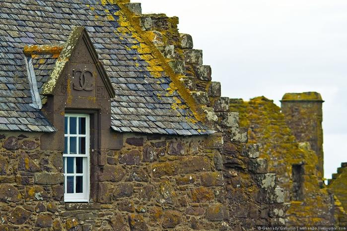 шотландский замок данноттар 6 (700x466, 293Kb)
