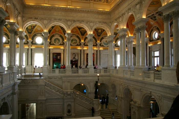библиотека конгресса фото 8 (700x464, 249Kb)
