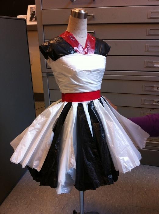 Как сделать юбку из бумаги для себя