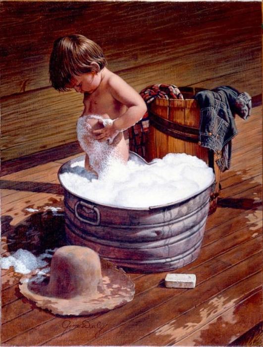 Водные процедуры в живописи1 (531x700, 315Kb)