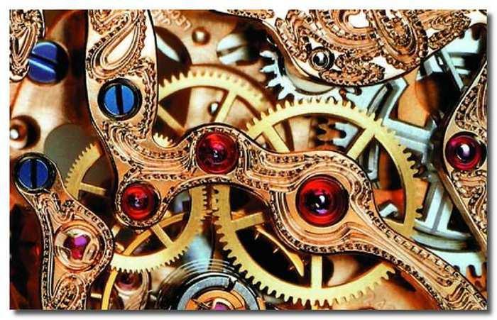 Как ухаживать за кварцевыми механическими часами браслетами ремешками от для часов/4682845_shesterenki (700x451, 64Kb)