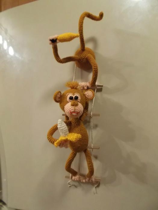 Магниты обезьяны своими руками