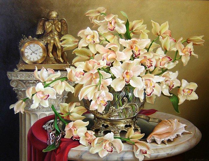 Цветы и фрукты в натюрмортах Дмитрия ...: www.liveinternet.ru/users/elinor_051/post313867010