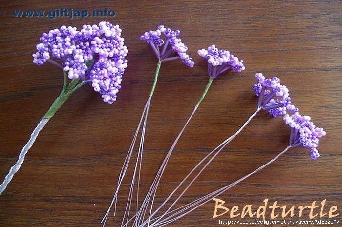 Техника плетения бисером для начинающих.  Как сплести из.  Объёмный 3D цветок из бисера - цинния.