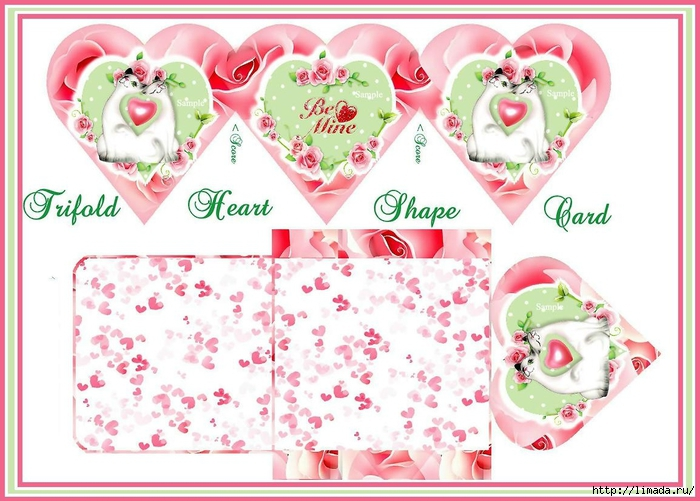 Valentine_Trifold_Heart_Shape_Card_Set_Sample (700x501, 257Kb)