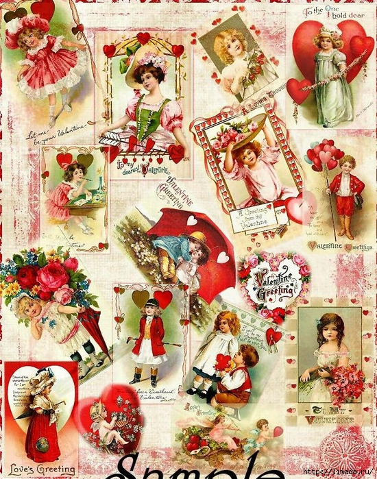 Vintage_Valentine_Background_Sample_1 (550x700, 480Kb)