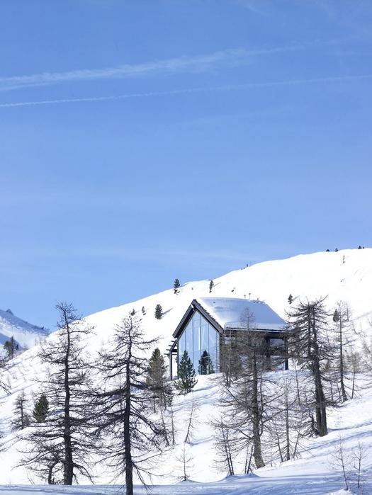 домик в горах фото 1 (525x700, 231Kb)