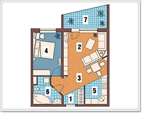 Дизайн квартир и домов перепланировка