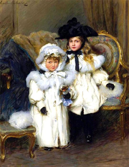 1Walter Frederick Osborne(1859-1903)Dorothy and Irene (542x700, 65Kb)