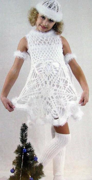 платье снежинки (357x700, 174Kb)