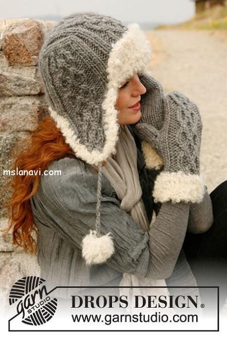 Вязаные шапки и шарфы Вязание спицами и крючком - Азбука.