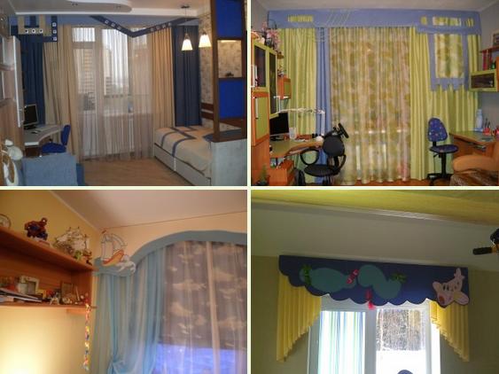 шторы для детских комнат (563x422, 562Kb)