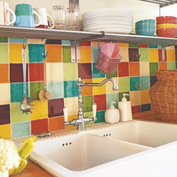 Amazoncom ceramic subway tile backsplash