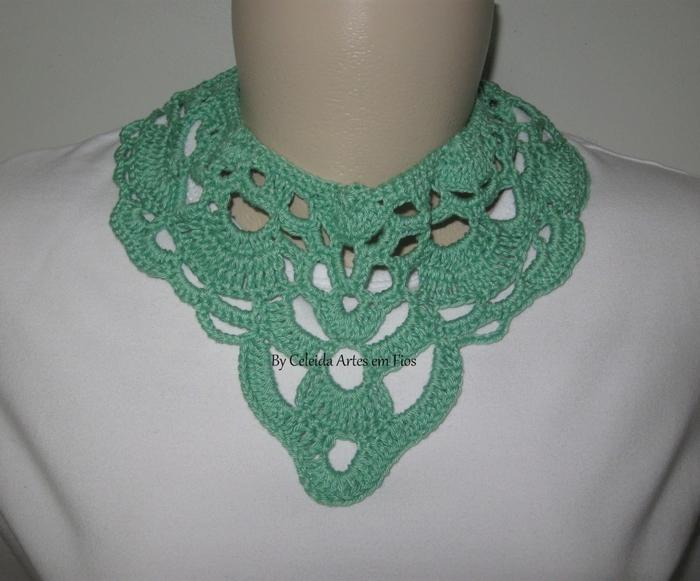 Связать ожерелье по схеме