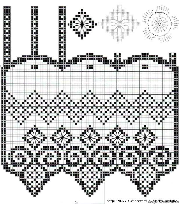 Филе шторы подборка (12) (619x700, 366Kb)