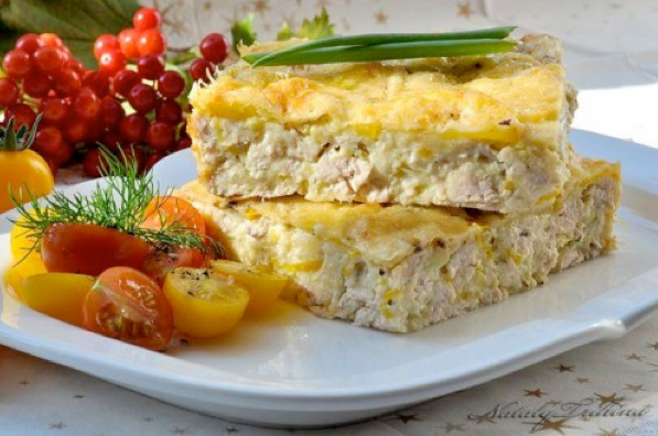 Рецепт куриного филе кабачков фото