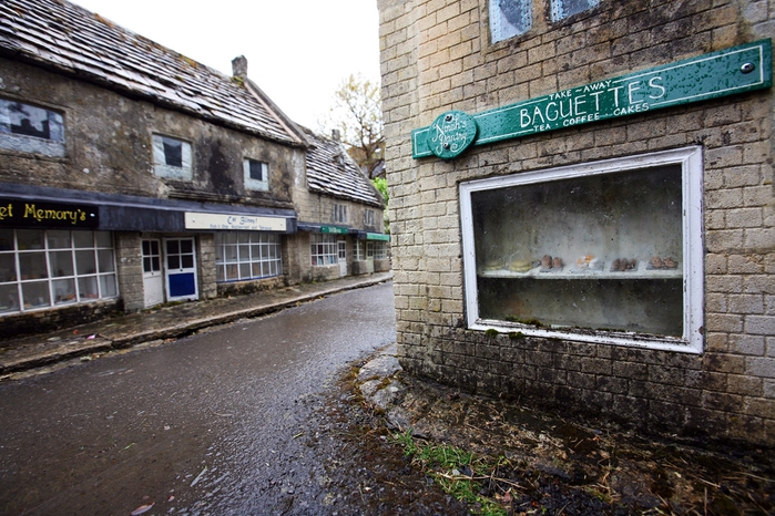 макет английской деревни Bourton-on-the-Water 5 (700x466, 315Kb)
