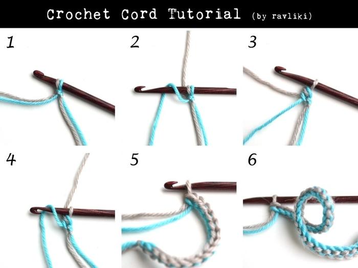 Вязание с шнурками