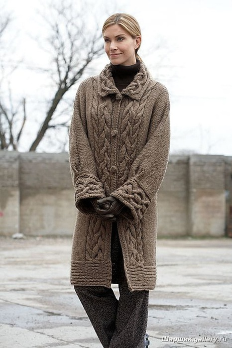 Knitting Pattern For Long Sweater Coat : ??????? ?????? ?????? ? ??????? ??????? ?????? ??????? danagri : LiveInte...