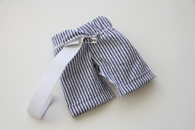 Как сшить шорты своими руками для кукол барби