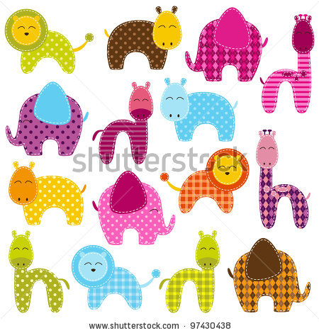 stock-vector-vector-set-of-patchwork-animals-97430438 (450x470, 80Kb)